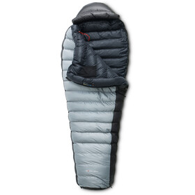 Yeti Fusion 1300+ Sleeping Bag L, silver grey, black/black